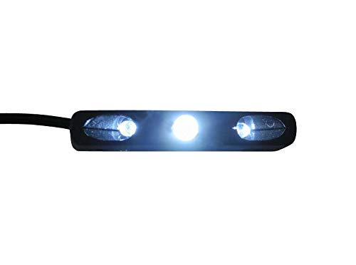 LED Luz de Matrícula Motocicleta, Scooter, Quad, Trike, Atv
