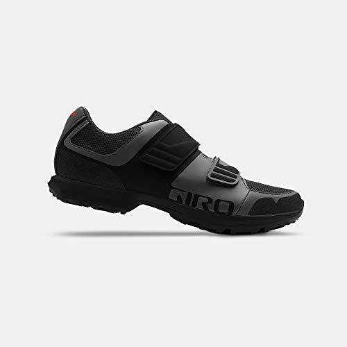 Giro Berm - Zapatillas de Ciclismo Men's Dark Shadow/Negro, EU 47