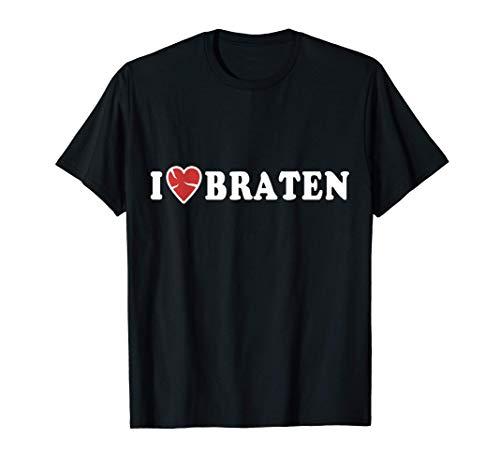 Braten Fleisch Schweinebraten Grillen Rinderbraten Metzger T-Shirt