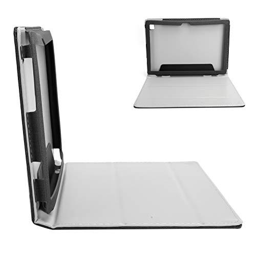 para el Estuche Teclast P20HD, Estuche Protector a Prueba de Golpes para Teclast P20HD, Estuche rígido con Soporte de múltiples ángulos de visión para Tableta TECLAST P20HD(Negro)