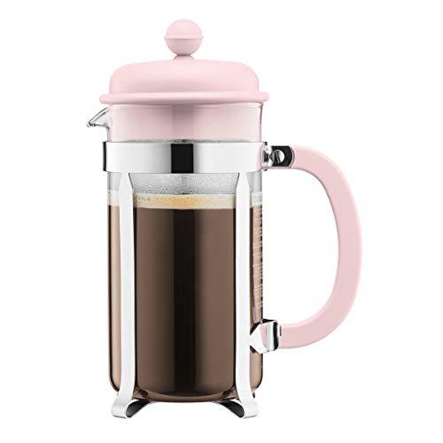 Bodum Kaffeebereiter für 8 Tassen, Pastellrosa