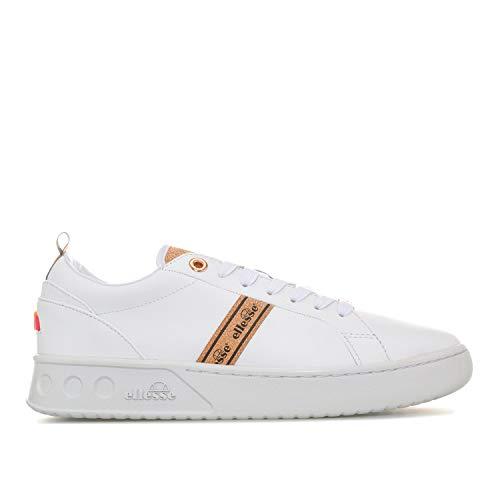 Ellesse Mezzaluna Tp, Sandales de Sport Femme, Blanc (White 000), 35.5 EU