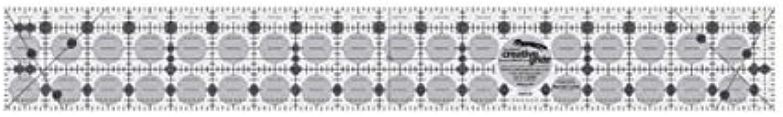 últimos estilos Creative Grids 6.4cm 6.4cm 6.4cm X 47cm Ruler CGR218  alta calidad