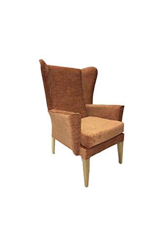 Acaster Orthopädischer Stuhl Juno fleckenabweisender Stoff - Burnt Orange