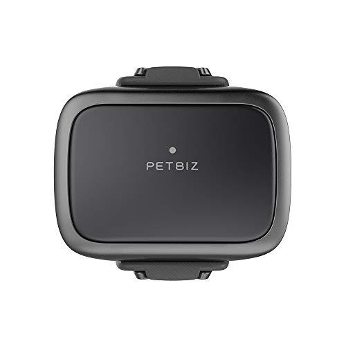 PETBIZ G1 GPS Pet Tracker  NB-IOT(5G) Dog Locator & Activity Monitor  30 Days Ultra Long-Lasting Battery Lightweight Waterproof Dog Finder (Black) …