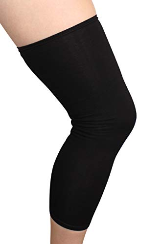 Knee Brace Undersleeve Closed Patella Protects Skin from Abrasions and Irritations, Easy to Use,...