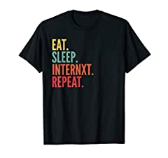 This is a perfect gift for a Internxt cryptocurrency user This product says Eat Sleep Internxt Repeat. If you're invested inInternxt, wear this with pride! Lightweight, Classic fit, Double-needle sleeve and bottom hem