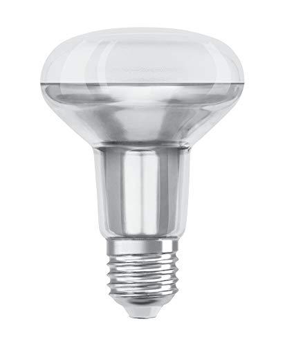 Osram STAR R80 Bombilla LED reflectora, Casquillo E27, 2700 K, 9,10W, Equivalente a 100W, Blanco cálido, Un solo paquete