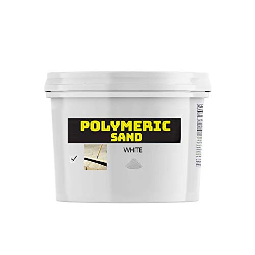 Buddingco Polymeric Sand - White 18lbs Joint Stabilizing Sand for Pavers