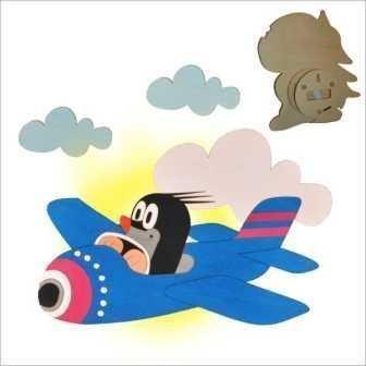 Maulwurf wandlamp ABA vliegtuig 61050