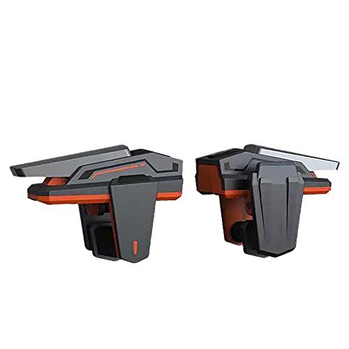 Mungowu 2 Piezas Controlador de Juegos de TeléFono Teclas FíSicas MóViles Universales Disparador L1R1 BotóN de Objetivo de Fuego Palanca de Mando para IOS / Android