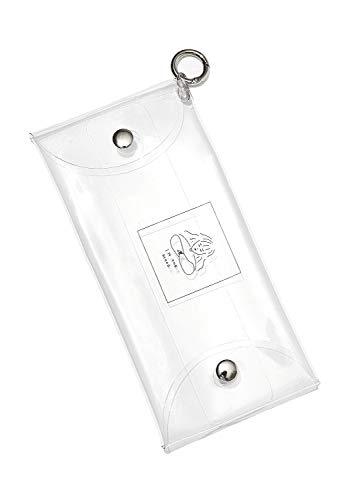 SPINNS クリアケース マルチケース 筆箱 ペンケース 筆入れ クリアポーチ ふでばこ 筆記用具 文房具 シンプル 透明 小物入れ 収納 スピンズ SPINNS プレゼント ガール1 -