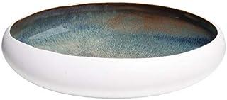 L'Oca Noir 1E114 - Centro de Mesa Mediano de cerámica, 30 x 29 x 6,5 cm