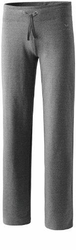 Erima 210022 Casual Basics Pantalon de survêtement Femme Gris Chiné FR : M (Taille Fabricant : 42/Court)