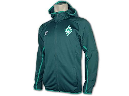 UMBRO SV Werder Bremen Kapuzenjacke Herren dunkelgrün/grün, S