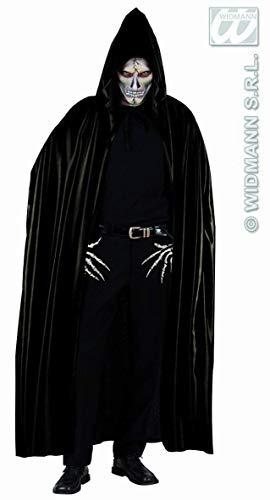 Grande cape noire à capuche