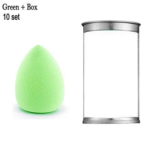 ZWQ Makeup Sponge Foundation Powder Puff Mix Cosmetic Blender Sponge Smooth Makeup Sponge Puff, 09