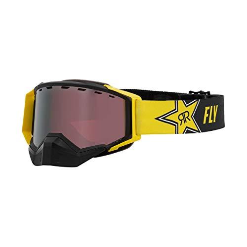 Fly Racing 2021 Zone Snow Goggles (Rockstar/Silver Mirror/Rose Lens)