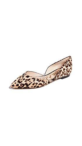 Sam Edelman Women's Rodney Ballet Flat, Sand Leopard, 5 M US