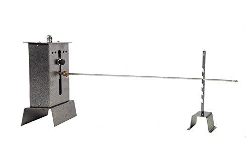 FALCI 263GIR-C Girarrosto Elettrico 1 Spiedo, 68 cm, Grigio, 150x30x40 cm