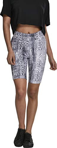 Urban Classics Damen Ladies Cycle Pattern Shorts, Snake, XS