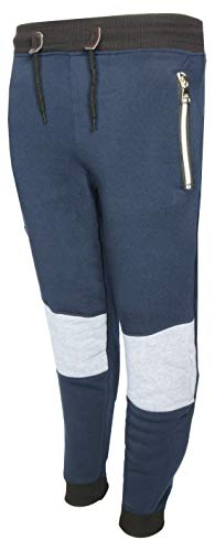 Galaxy by Harvic Boys Active Fleece Jogger Pant with Panel Detail, Size...
