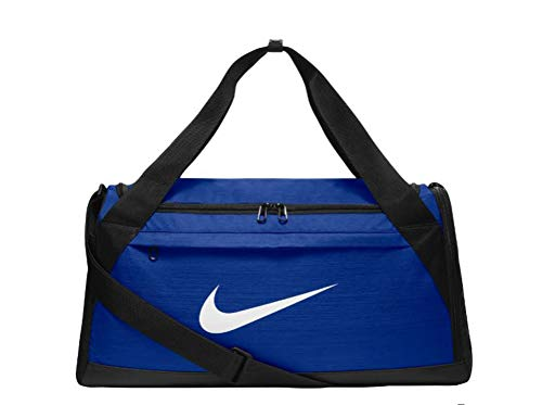 Nike Brasilia Training Duffel Bag Royal/White (S)