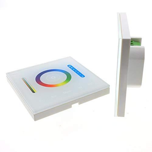 RGBWLED dimmer controlador dimmer luces de tira de ajuste de la lámpara de pared interruptor del panel táctil brillo