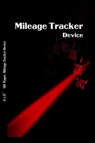 Mileage Tracker Device: Gas Mileage Monitor | Automobile Mileage Log Book for Business Personal | Automobile Tracking System | Mileage Expense Tracker Logbook