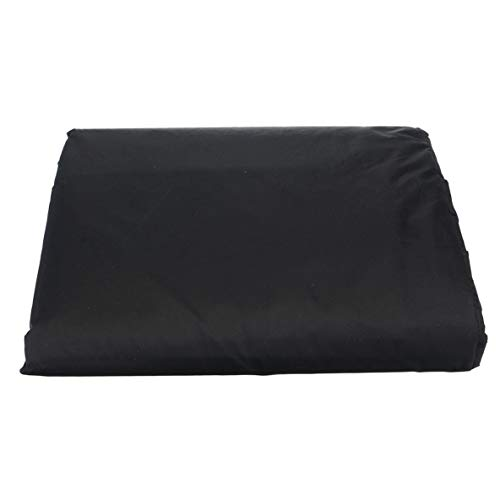 nbvmngjhjlkjlUK Housse de Protection pour meubles, meubles de Jardin en Plein Air housse de canapé d'angle housse de Protection pour meubles en Fibre de Polyester Noire