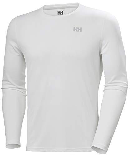 Helly Hansen HH LIFA Active Solen LS Camiseta Técnica De Protección Solar Manga Corta, Hombre, White, S