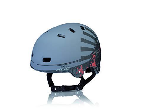 XLC Unisex-Adult Urban-Helm BH-C22, Grau, 53-59 cm