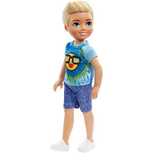 Barbie Amichetto di Chelsea, Bambola con Maglietta Colorata, Giocattolo per Bambini 3 + Anni, FRL83