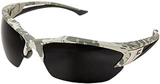 Edge Safety Khor Glasses, Polarized, Digital Camouflage Frame, Smoke Lens, TSDK216DCF