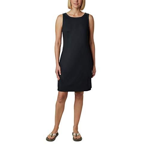 Columbia Chill River Vestido, Mujer, Black, S