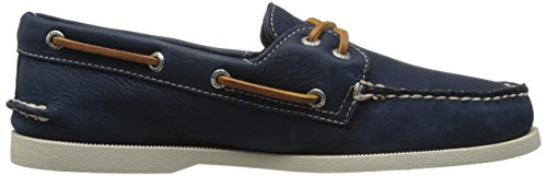Sperry Top-Sider Men's a/O 2-Eye Cross Lace Boat Shoe, Navy, 10 M US