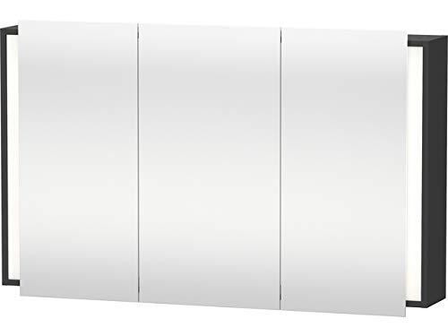 Duravit Spiegelschrank Ketho 180x120x750mm 3 Spiegeltüren, graphit matt, KT753304949