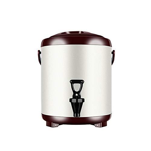 Acero inoxidable olla de agua caliente, dispensador de agua caliente con el grifo, el barril preservación del calor, dispensador de agua, té con leche, té, cerveza, contenedor de café, adecuado for us