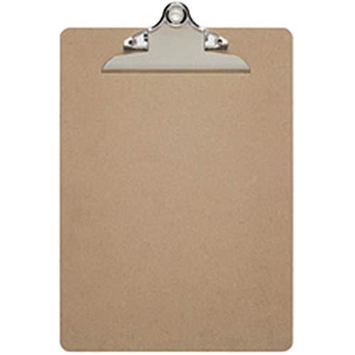 Schreibplatte Maulclassic, Klemmbrett, DIN A4 hoch, Hartfaser-Holz, Recycelbar, retro-Klemmer, 25 mm Klemmweite