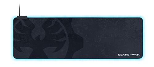 Razer Goliathus Extended Chroma Gaming Mauspad: anpassbare Chroma RGB Beleuchtung – weiches Stoffmaterial – ausgewogene Kontrolle und Geschwindigkeit – rutschfeste Gummibasis – Gears of WAR 5 Edition