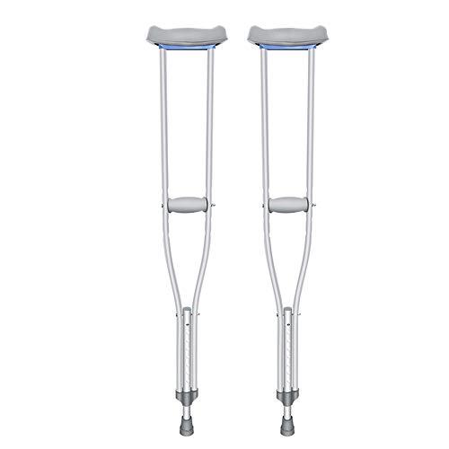 crutch Achselkrücken Senioren Senioren Gehstockkrücke höhenverstellbar teleskopierbar