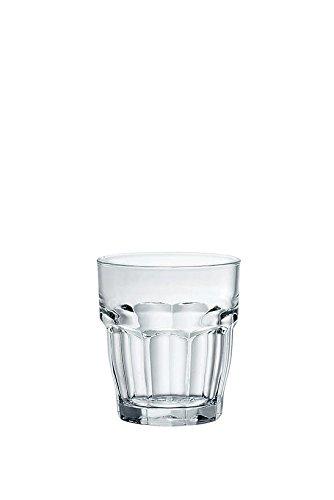 Bormioli Rocco Rock Bar Bicchieri, 4 pz, 4 unità