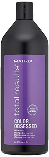Matrix Matrix Total Results Color Obsessed Shampoo, 33.79 Ounce Bouchon d'oreille 2 Centimeters Noir (Black)