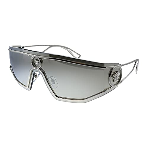 Versace VE2226, (Plateado/gris claro/plateado), Talla única
