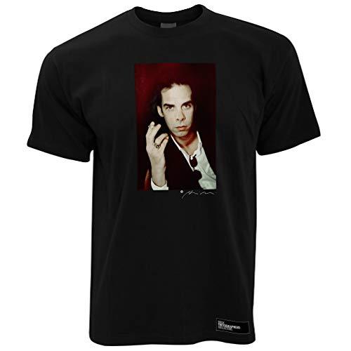 Nick Cave (2) Herren T-Shirt 2. - Schwarz/L