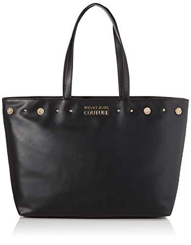 Versace Jeans CoutureBorsaMujerBolso de manoNegro (Negro) 13x20x47 centimeters (W x H x L)
