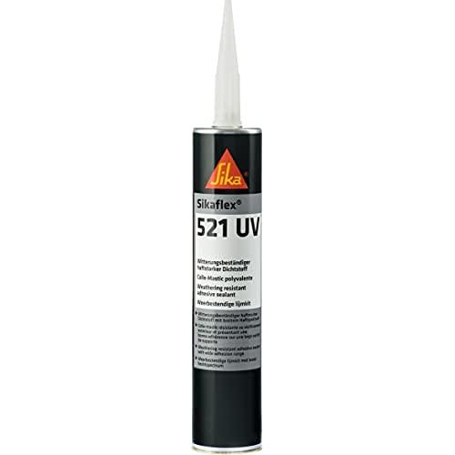Sikaflex 521 UV Witterungsbeständiger haftstarker Dichtstoff 300 ml weiß