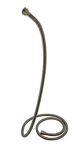 Vetrineinrete Laccio doccia bronzo tubo flessibile per doccetta e vasca da 200 150 cm attacco 1/2 pollici per soffione (150 cm) P92
