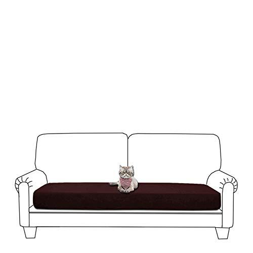 Getmorebeauty - Funda de cojín elástica para sofá, suave y flexible, impermeable, funda para cojín para sofá, funda de cojín para muebles (café, sofá)