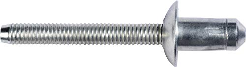 AMZ Clips And Fasteners 10 Specialty Rivet Compatible with Ford W707638-S900C Cab, Rear Body, Floor, Door
